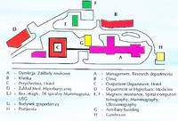Plan kompleksu budynków MIMMiT